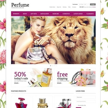 Cosmetics Store VirtueMart Template