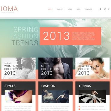 Fashion Store Responsive WordPress Theme