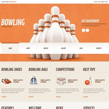 Bowling Responsive WordPress Theme