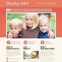 Primary School Moto CMS HTML Template