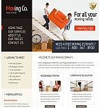 Moving Company Facebook HTML CMS Template