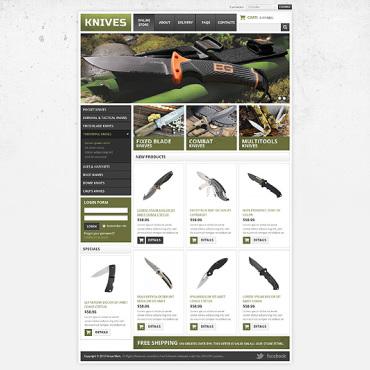 Gun Shop VirtueMart Template