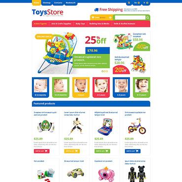 Responsive Toys Store PrestaShop Theme #45424
