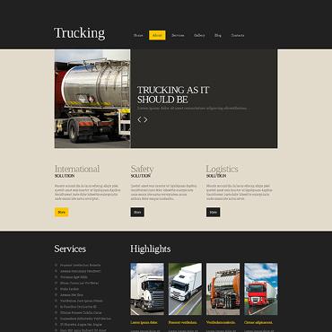 Trucking Responsive Joomla Template