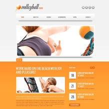 Volleyball Drupal Template
