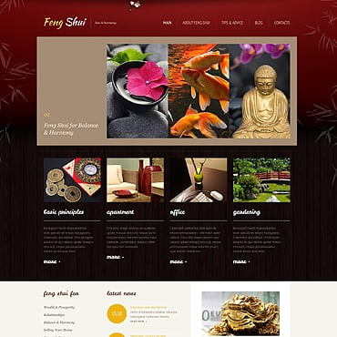 Feng Shui Responsive WordPress Theme