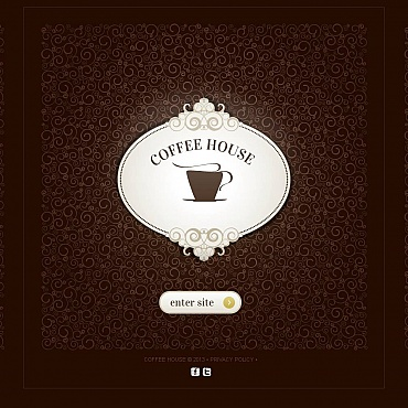 Coffee Shop Moto CMS HTML Template