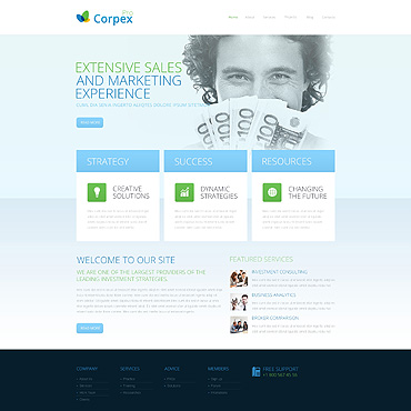 Marketing Agency Responsive Drupal Template