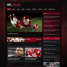 Football Moto CMS HTML Template