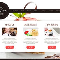 Cafe and Restaurant Responsive Joomla Template