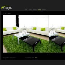 Interior Design Flash CMS Template