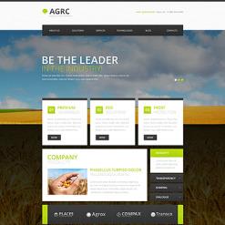 Vegetable Responsive Website Template