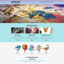 Astrology Responsive WordPress Theme