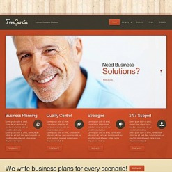 Advertising Agency Flash CMS Template