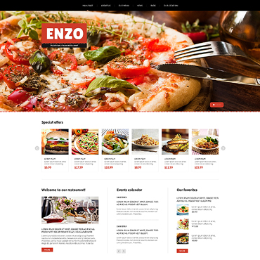 Template Monster Joomla Restaurant