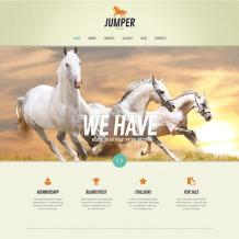Horse Responsive WordPress Theme