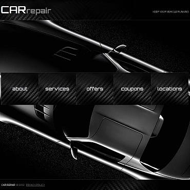 Car Repair Moto CMS HTML Template #46296