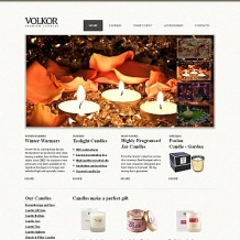 Gifts Store Moto CMS HTML Template