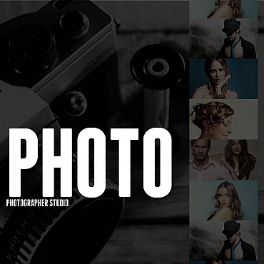 Photo Studio Facebook HTML CMS Template