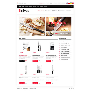 Housewares OsCommerce Template