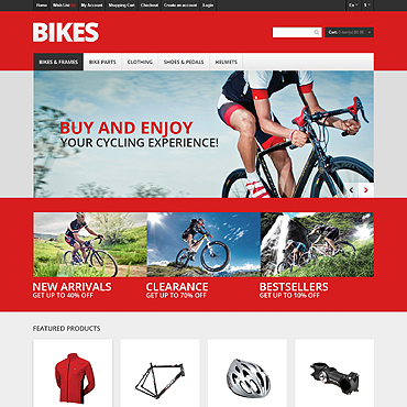 BMX OpenCart Template