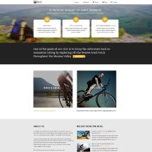 BMX Responsive Website Template