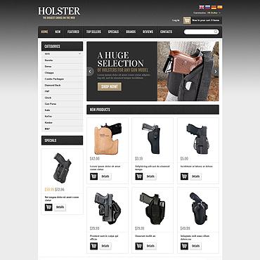 Gun Shop OsCommerce Template