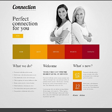 Neutral Moto CMS HTML Template