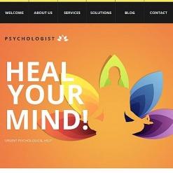 Psychologist Facebook HTML CMS Template