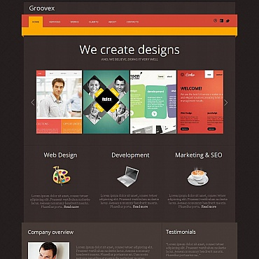Management Company Moto CMS HTML Template