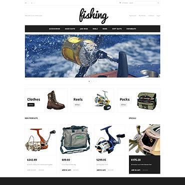 Fishing Sport Magento Theme #47320