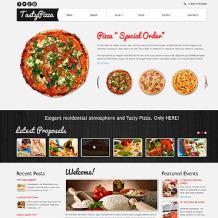 Pizza Responsive Joomla Template