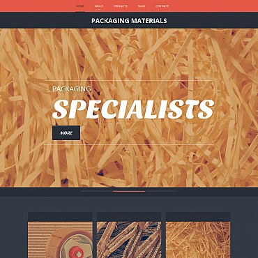 Packaging Moto CMS HTML Template