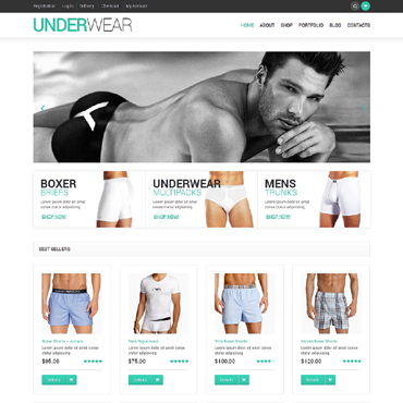 Men's Underwear WooCommerce Theme