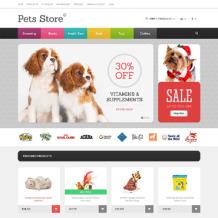 Dog Responsive OpenCart Template