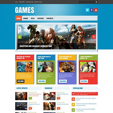 Flash Games Responsive WordPress Theme