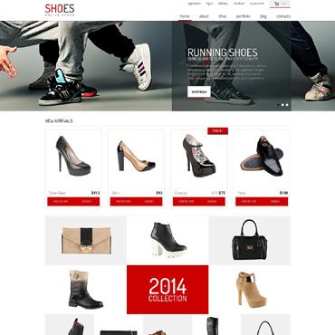 Shoe Store Responsive Jigoshop Theme