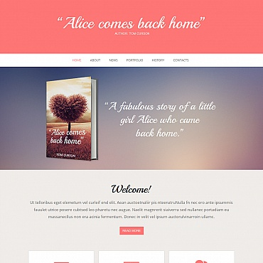 Book Reviews Moto CMS HTML Template