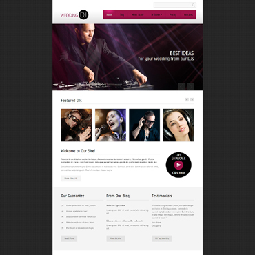 Personal Page Drupal Template #48072