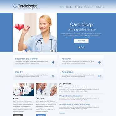 Medical Responsive Website Template