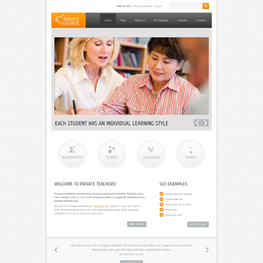 Education Responsive Drupal Template