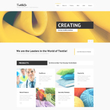 Crafts Responsive Joomla Template