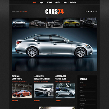 Car Dealer Responsive WordPress Theme