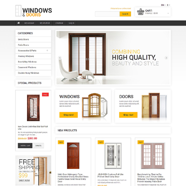 Window Responsive Magento Theme