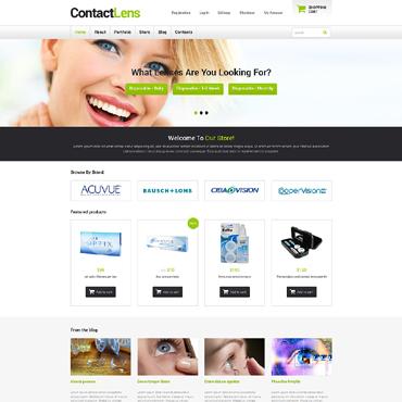 Optometrist's Responsive WooCommerce Theme