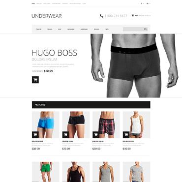 Men's Underwear Responsive OpenCart Template