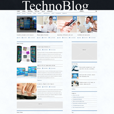 Electronics Review Responsive WordPress Theme