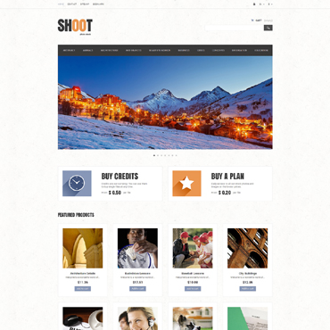 Stock Photo Responsive PrestaShop Theme