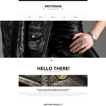 Biker Club Responsive Website Template