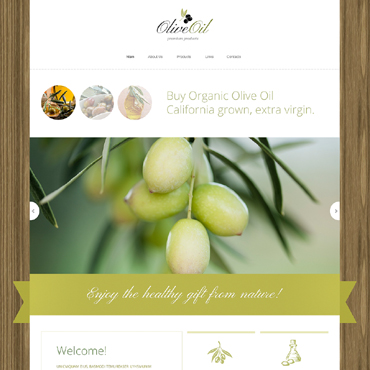 Food & Drink Drupal Template